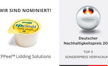 PROFOL - Nominiert für den deutschen Nachhaltigkeitspreis 2020